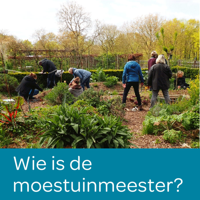 Photo accueil, wie is de moestuinmeester